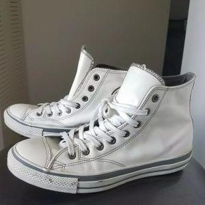 Vintage Men's Converse Chuck Taylor White Leather